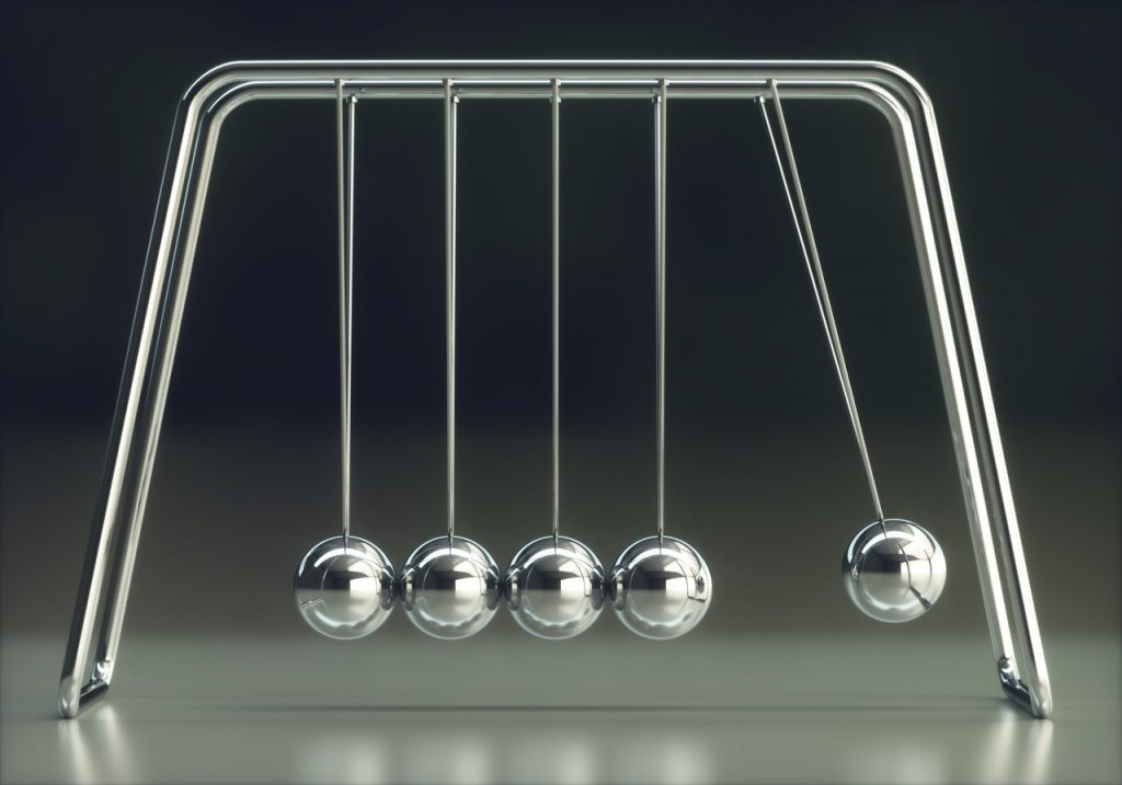 kulki poddające się prawą fizyki